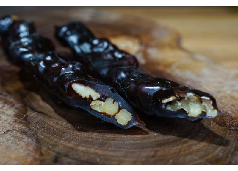 Walnut Churchkhela with Carob Molasses