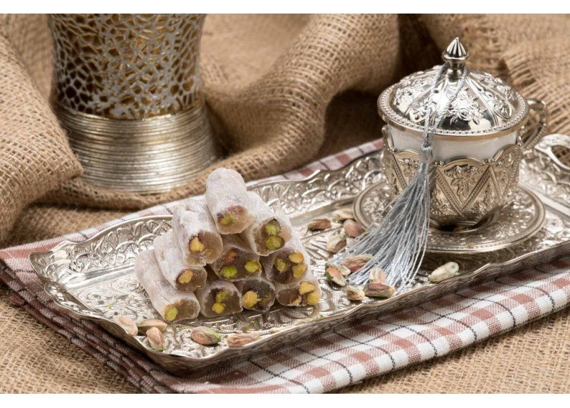 Finger Turkish Delight with Pistachio
