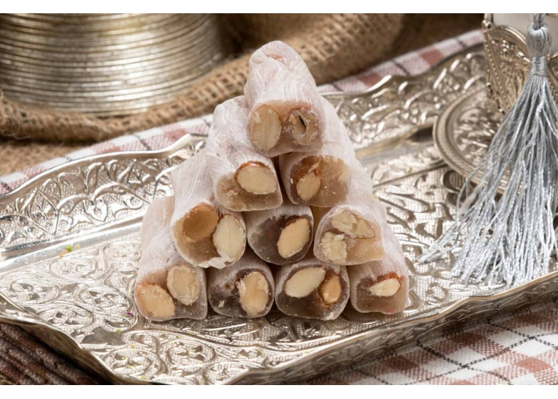 Finger Turkish Delight with Almond