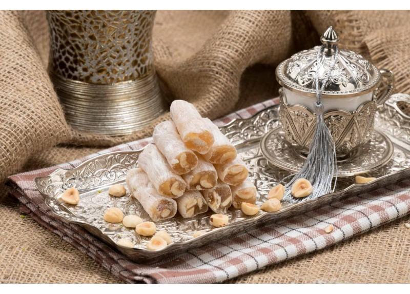 Finger Turkish Delight with Hazelnut