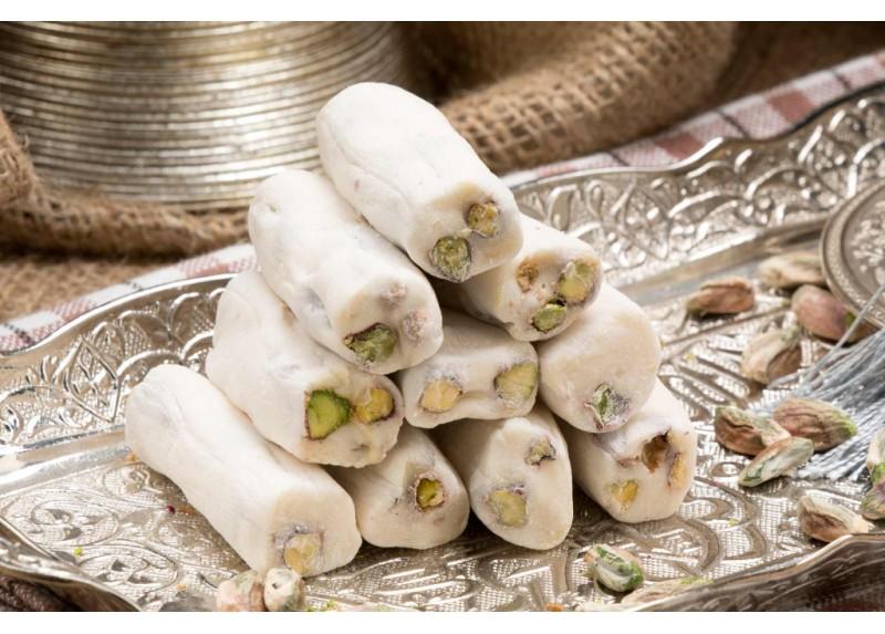 Finger Sultan Turkish Delight with Pistachio